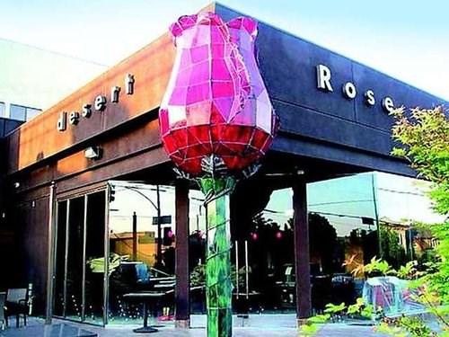 join the happy hour at desert rose restaurant in los. Black Bedroom Furniture Sets. Home Design Ideas