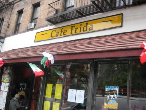 Join The Happy Hour At Cafe Frida In New York Ny 10024
