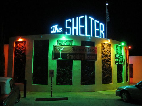the shelter cocktail lounge tucson