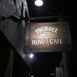 Produce Row Cafe'