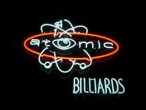 Atomic Billiards