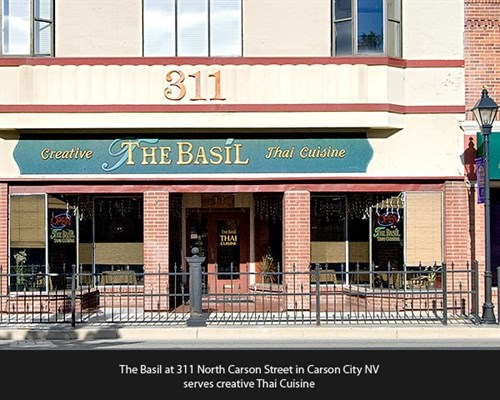 Join The Happy Hour At The Basil Restaurant In Carson City