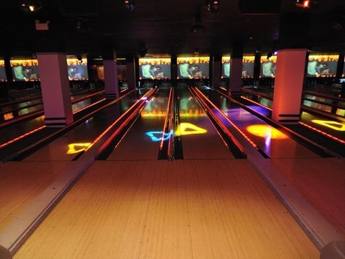 Join the Happy Hour at Frames Bowling Lounge in New York, NY 10018