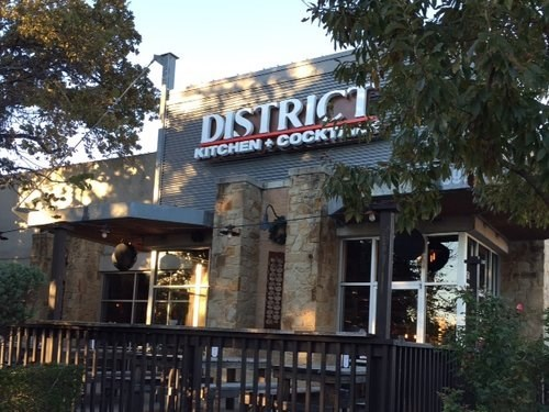 Join The Happy Hour At District Kitchen Cocktails In