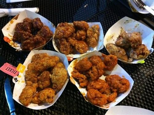 buffalo wild wings thursday wing price