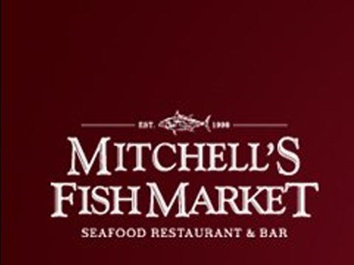 Join the happy hour at mitchell 39 s fish market restaurant for Mitchell s fish market happy hour menu